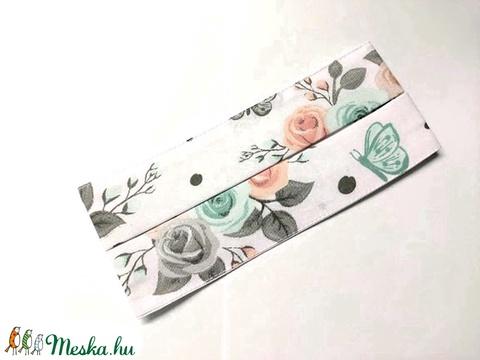 Rózs-pillangó redőzött Textil mosható szájmaszk, arc maszk ( felnőtt ) - Meska.hu