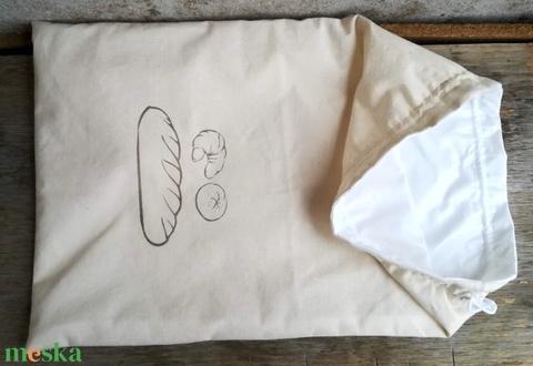Kenyeres zsák - 1 kg-os kenyérhez - Meska.hu