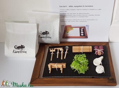 Zen kert - paddal és füstölővel - Meska.hu