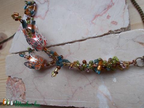 Gyöngy virág nyaklánc (Kcsi) - Meska.hu