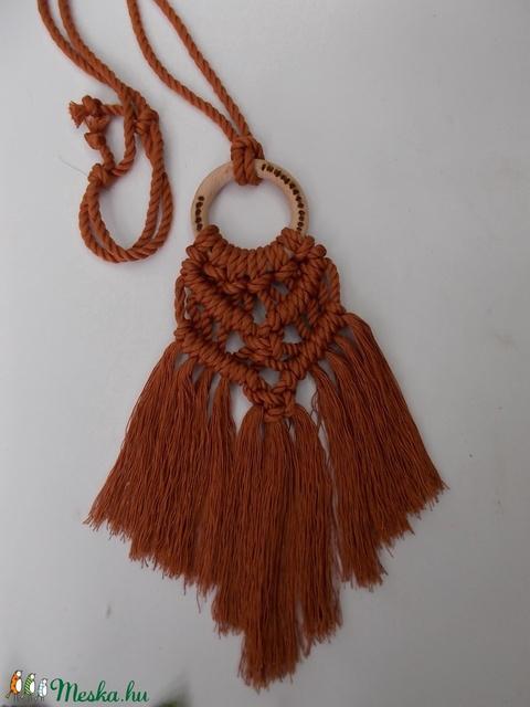 Nara Makramé nyaklánc (Kcsi) - Meska.hu