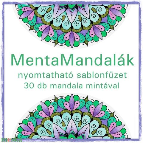 MentaMandalák - nyomtatható mandalás színező - Meska.hu