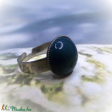 Türkiz kerámia gyűrű (keramika) - Meska.hu