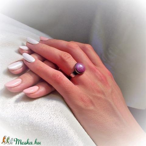 UNIKORNIS lila kerámia gyűrű 1,2 - Ajándék lányoknak nőknek névnapra születésnapra (keramika) - Meska.hu