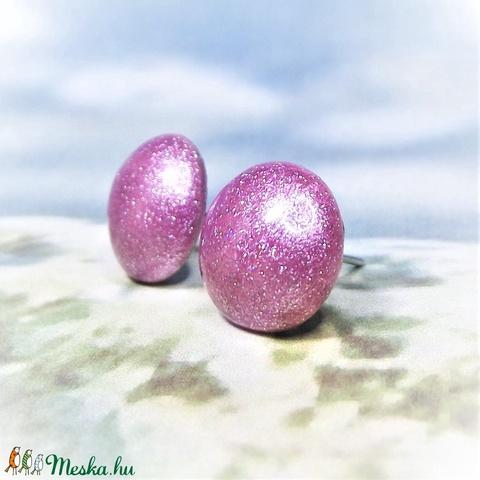 UNIKORNIS lila kerámia fülbevaló - Ajándék lányoknak nőknek névnapra születésnapra (keramika) - Meska.hu