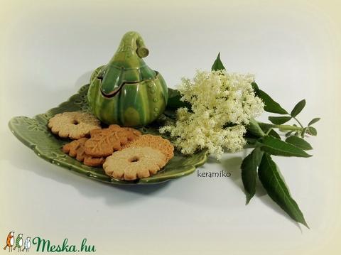 Sütitálka cukortartóval (keramiko) - Meska.hu