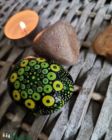 Mandala energia kő - Meska.hu