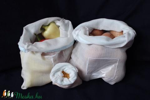 3 db bevásárló zsák (újrahasznosítható) (KezmuvesKinga) - Meska.hu