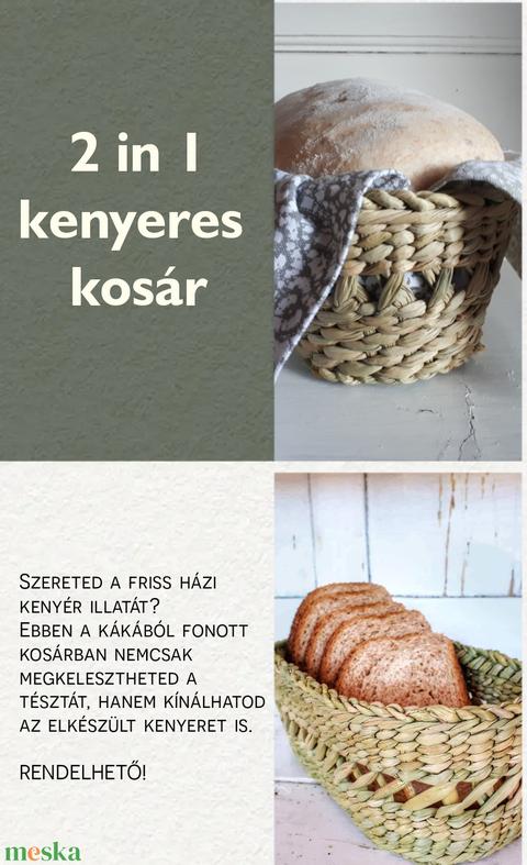 Kenyeres kosár  (kezmuvesporta) - Meska.hu