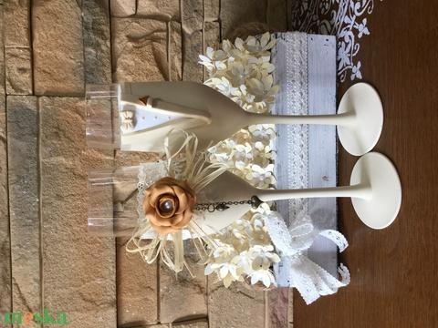 Esküvői pohár pár  (KicsinyCsodak) - Meska.hu