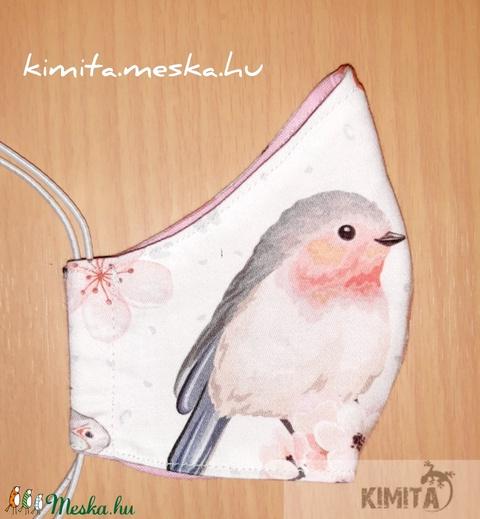 Női maszk, szájmaszk, arcmaszk - madárkás - Meska.hu