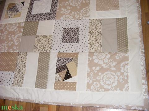 Crazy Patchwork takaró, pasztell színekből - Meska.hu