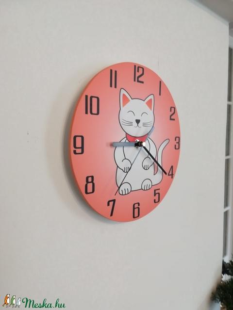 Macskás óra - Meska.hu