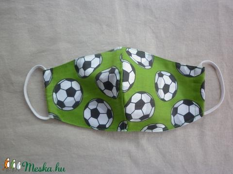 Arcmaszk - focilabdás S-s méret - Meska.hu