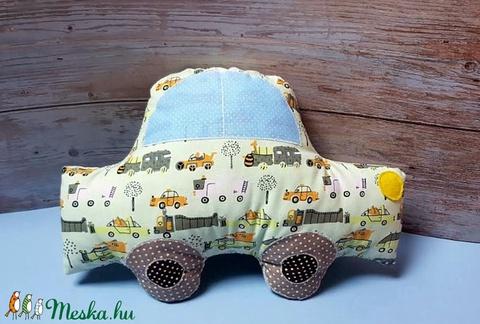 Autó párna autós pamut anyagból  (Koricaki) - Meska.hu
