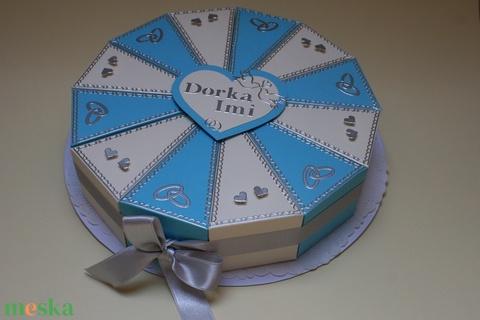 Papír tortadoboz - 12 szeletes (kovedina) - Meska.hu
