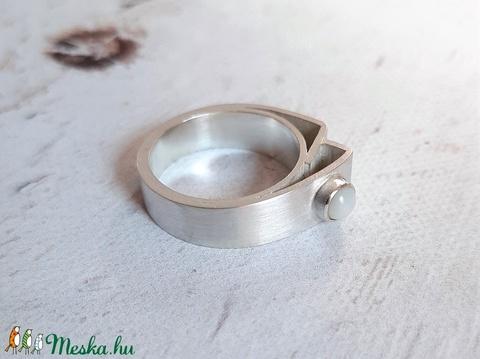 Modern ezüst gyűrű 4. - Meska.hu