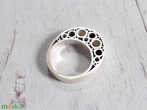 Modern ezüst gyűrű 5. (Kreagora) - Meska.hu