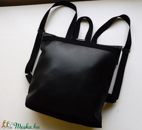 Csillámos és fekete roll up táska  (kreativvarazs) - Meska.hu