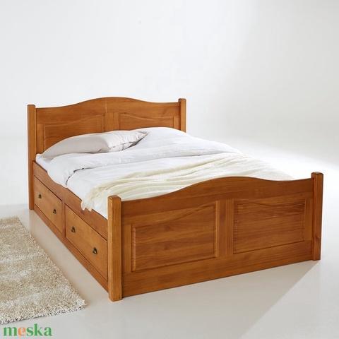 Fenyő ágy, 2db fiókkal. (kulonlegesvasak) - Meska.hu