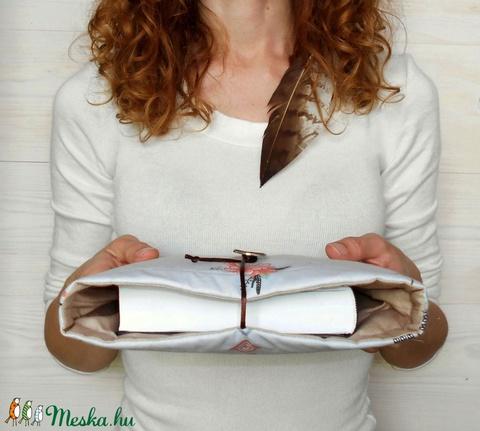 INDI�N NY�R - Könyv Védő Tok - NAGYOBB MÉRET!!! (kunbea) - Meska.hu