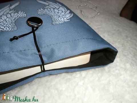 ANGYAL - Angelfall - Egyedileg festett Könyv Védő Tok, Könyvölelő, Könyvvászon (kunbea) - Meska.hu