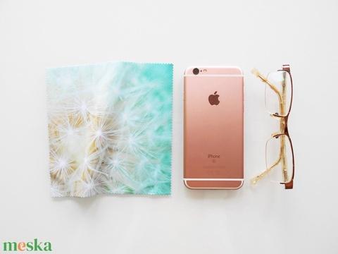 PITYPANG mintás vastag anyagú mikroszálas törlőkendő szemüvegre, mobiltelefonra, tabletre (kunbea) - Meska.hu