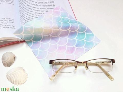 HABLEÁNY mintás vastag anyagú mikroszálas törlőkendő szemüvegre, mobiltelefonra, tabletre (kunbea) - Meska.hu
