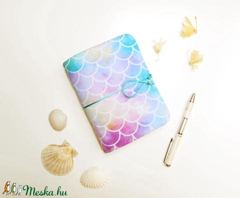 ' HABLE�NY ' Puha Textil borítású Napló A6 (kunbea) - Meska.hu