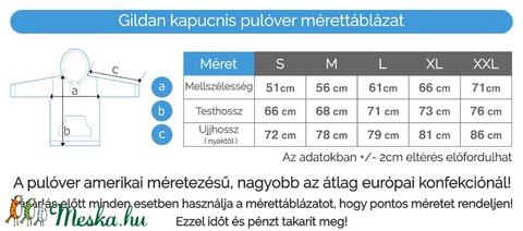 Mancsok szív alakban unisex pulóver - Meska.hu