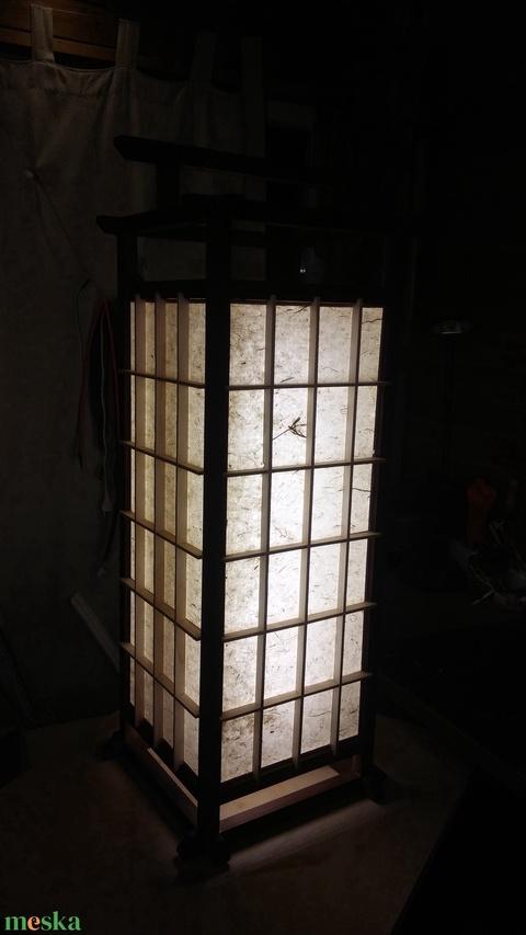 Nagy méretű Álló Shoji Lámpa (Larry35) - Meska.hu
