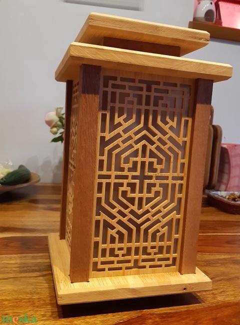 Bambusz hangulatlámpa (Larry35) - Meska.hu