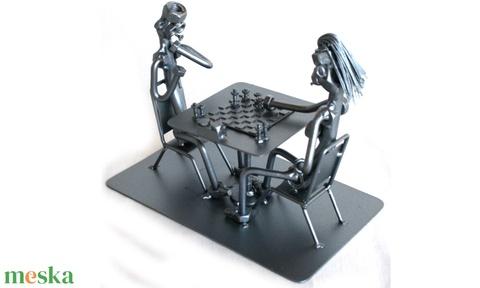 Sakkozók (laszlokatai) - Meska.hu