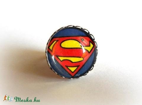 Superman gyűrű (LenEva) - Meska.hu 6d76fb50b9