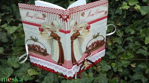 Karácsonyi recept füzet  (Levendula85) - Meska.hu