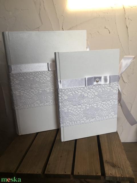 Esküvői fotóalbum és vendég könyv  - Meska.hu