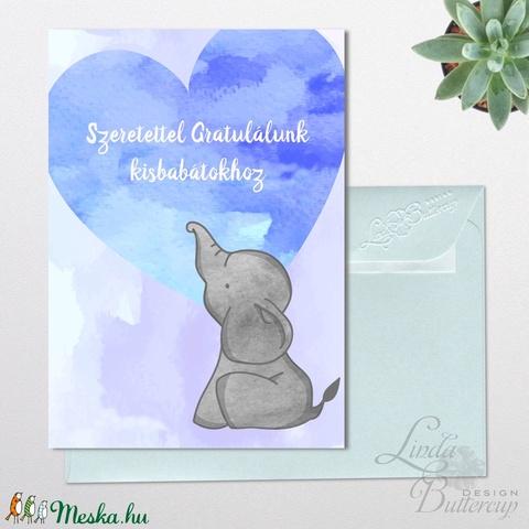 Gratulálunk Baba köszöntő képeslap, Megérkeztem lap, Keresztelő, kisfiú, kislány, baba, baby, újszülött (LindaButtercup) - Meska.hu