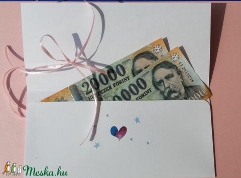 Pénzátadó boríték, Hálapénz, Doktor, Szülész, Doktornak, Ajándék, pénzátadó, kisfiú, kislány, baba, megérkeztem, baby (LindaButtercup) - Meska.hu
