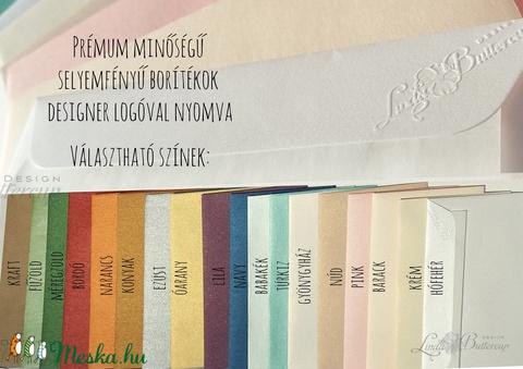 Esküvői meghívó Lila Orgona Virágos, Nyári Virágos Esküvői lap, Orgona virágos meghívó, Lila Esküvő - Meska.hu