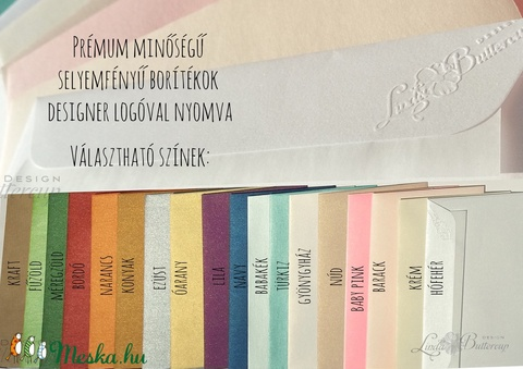 Esküvői meghívó, Virágos Esküvői lap, Esküvő Képeslap, rózsa lap,  rózsaszín meghívó - Meska.hu