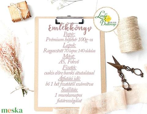 Esküvői vendégkönyv, emlékkönyv, fotóalbum, utazós, repülő (LindaButtercup) - Meska.hu