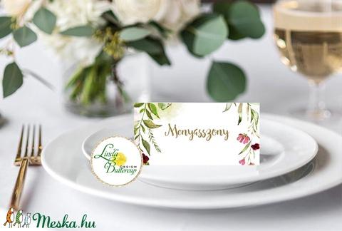 Esküvői ültető kártya, ültető, névkártya, név tábla, Esküvői dekor, dekoráció, rusztikus, letisztult, újrahasznosított - esküvő - meghívó & kártya - ültetési rend - Meska.hu