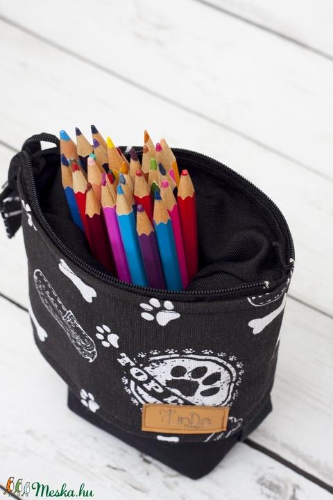 Lehúzható tolltartó (neszeszer) - ovi- és sulikezdés - tolltartó & ceruzatekercs - Meska.hu
