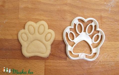 Kutya tappancs, mancs süteménykiszúró forma, keksz szaggató - Meska.hu