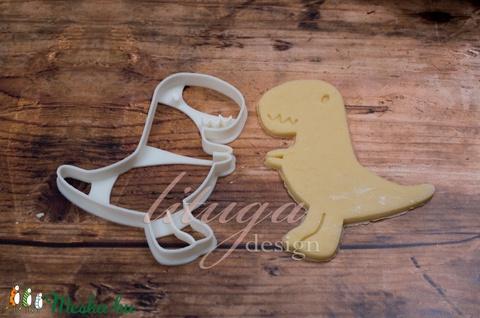 Dínós süteménykiszúró forma - T-rex (lituga) - Meska.hu