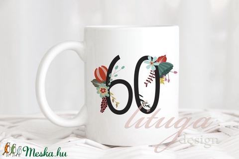 Számos (szülinapos, évfordulós) bögre - hátulján névvel / rövid szöveggel rendelhető (MNGR001) (lituga) - Meska.hu