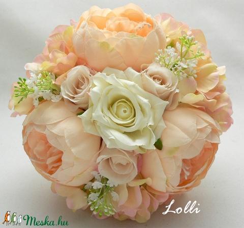 Barack menyasszonyi örökcsokor (Lolli) - Meska.hu