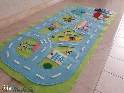 Autópálya/Játszószőnyeg (Luckygolden) - Meska.hu