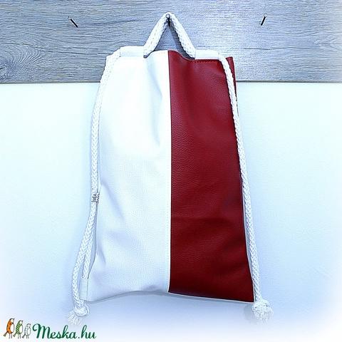 Textilbőr hátizsák  (MADOdesign) - Meska.hu