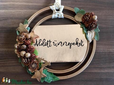Ünnepi kopogtató (MagnArt) - Meska.hu